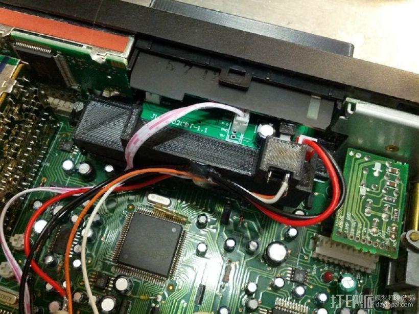 汽车收音机/盒式磁带  数字面板  3D模型  图5