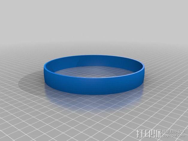 足球奖杯 3D模型  图3