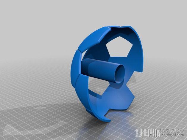 足球奖杯 3D模型  图6