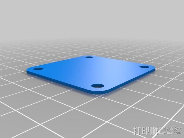 Naze32飞行控制器外壳 3D模型  图2