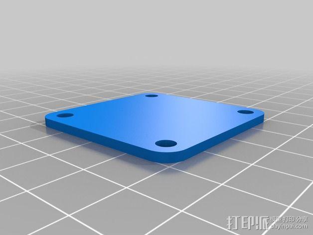 Naze32飞行控制器外壳 3D模型  图3