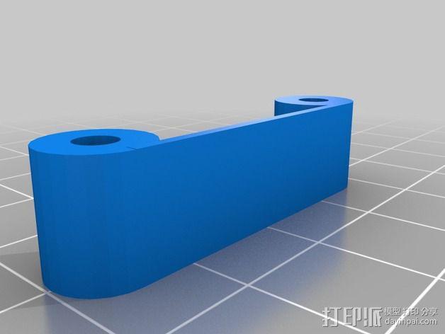 Naze32飞行控制器外壳 3D模型  图4