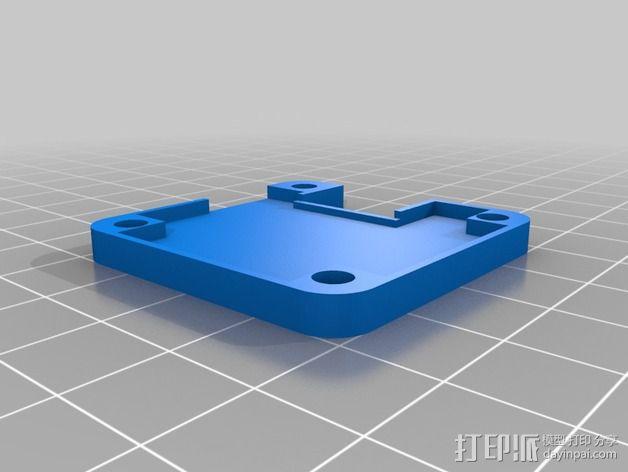 Naze32飞行控制器外壳 3D模型  图6