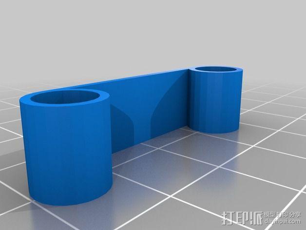 Naze32飞行控制器外壳 3D模型  图5