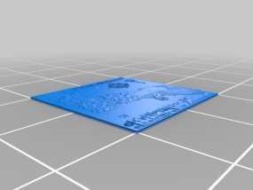 《权力的游戏》地图 3D模型