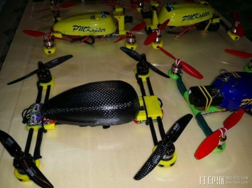 多轴飞行器  3D模型  图1