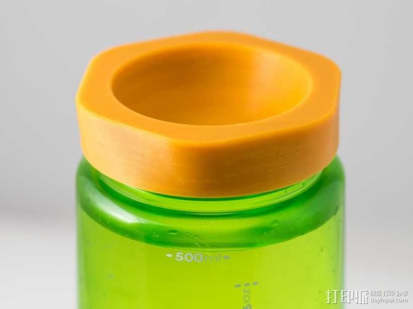 Nalgene 耐洁水瓶瓶盖 3D模型  图1