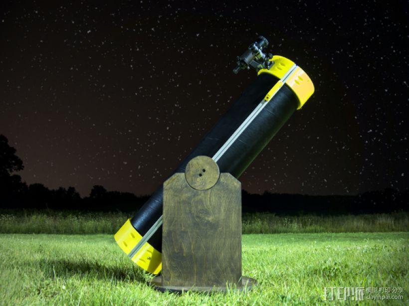 多布森望远镜 3D模型  图1