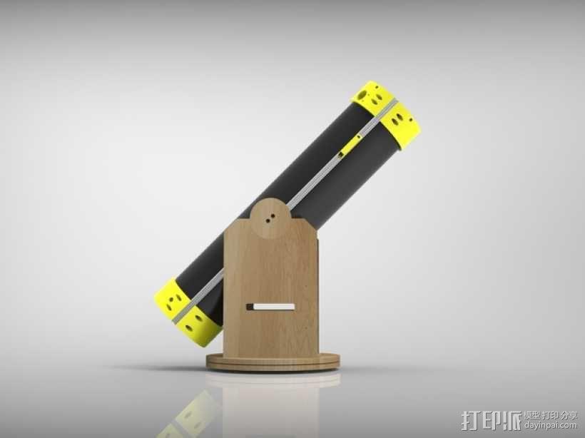 多布森望远镜 3D模型  图4