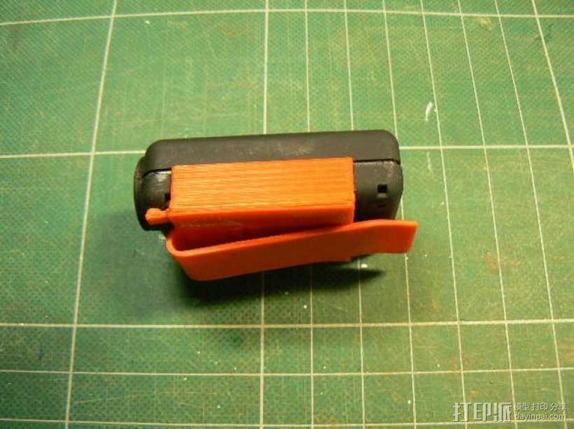 Mobius相机支架 3D模型  图1