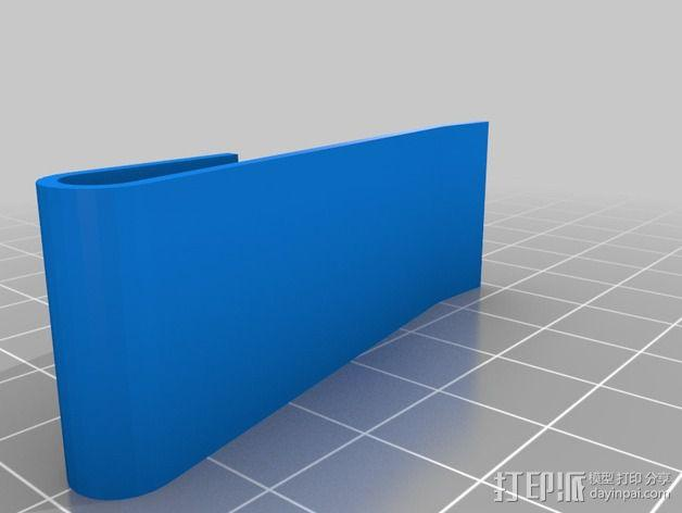 Mobius相机支架 3D模型  图3