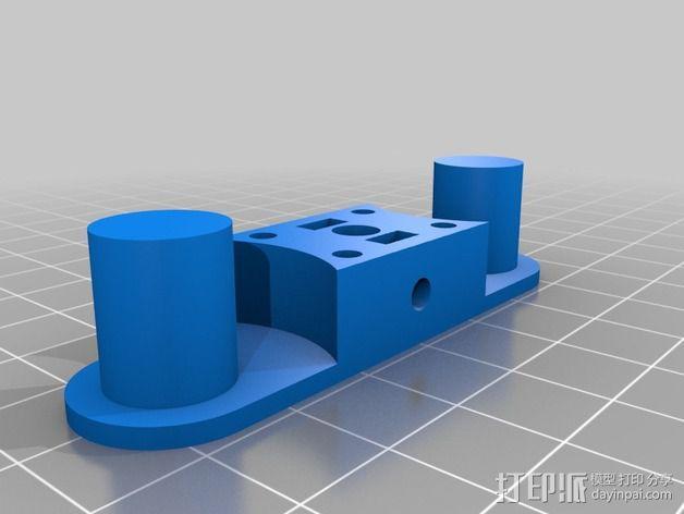 谐波驱动 3D模型  图4