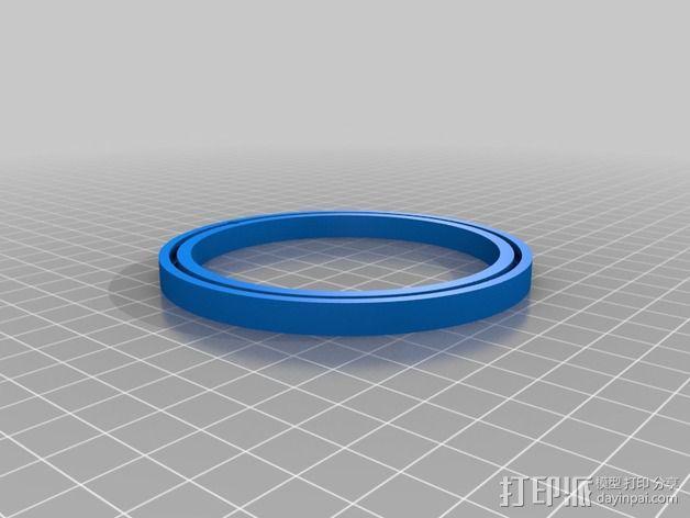 谐波驱动 3D模型  图7