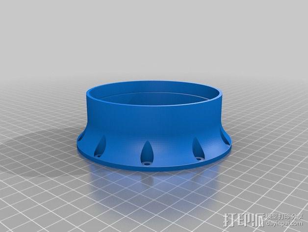 谐波驱动 3D模型  图6