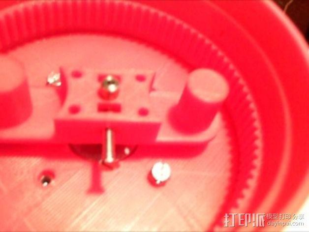 谐波驱动 3D模型  图10