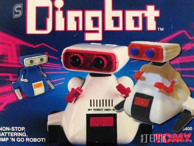 Dingbot机器人 3D模型  图2