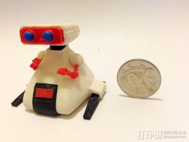 Dingbot机器人 3D模型  图3