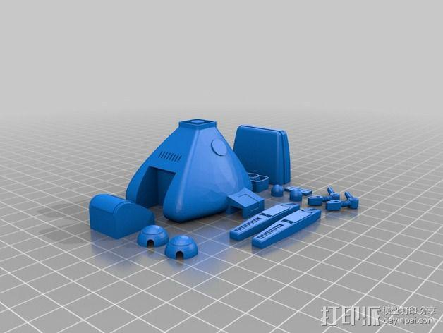 Dingbot机器人 3D模型  图4