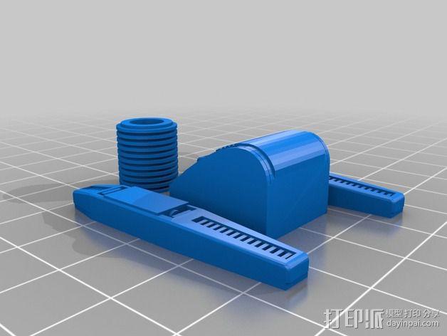 Dingbot机器人 3D模型  图5