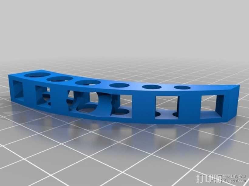 迷你四轴飞行器框架 3D模型  图4