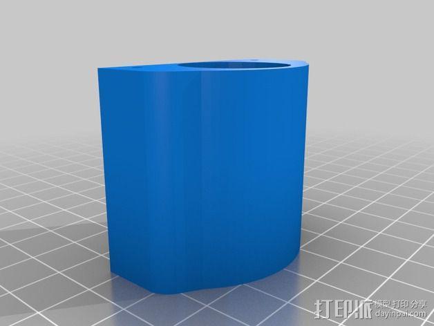 焊锡膏 点胶机 零部件 3D模型  图3