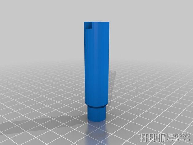 焊锡膏 点胶机 零部件 3D模型  图2