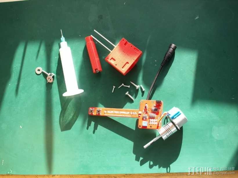 焊锡膏 点胶机 零部件 3D模型  图5