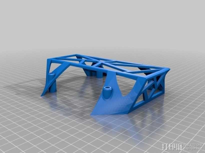 3D打印四轴飞行器 3D模型  图4