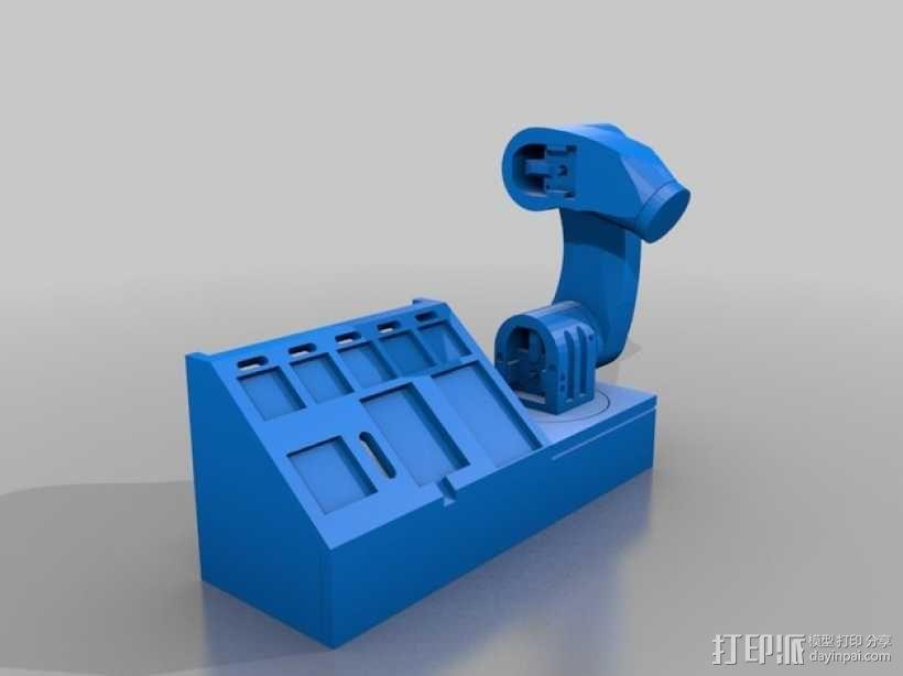 机械臂 3D模型  图2