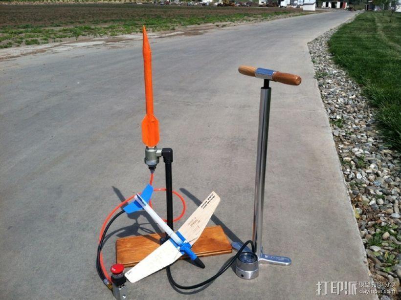地对空火箭 滑翔机  3D模型  图1
