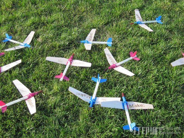 地对空火箭 滑翔机  3D模型  图2