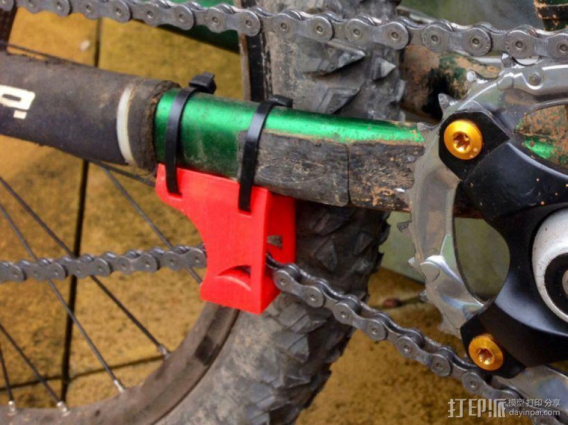 自行车链条拉紧器 3D模型  图1