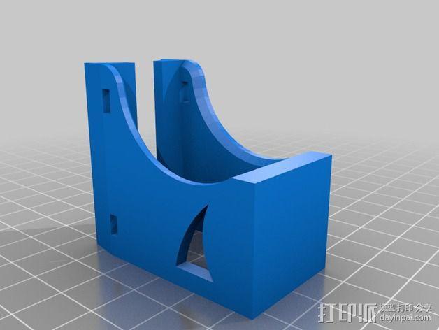自行车链条拉紧器 3D模型  图2