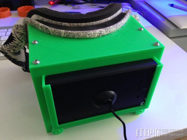 FPV谷歌眼镜 3D模型  图3