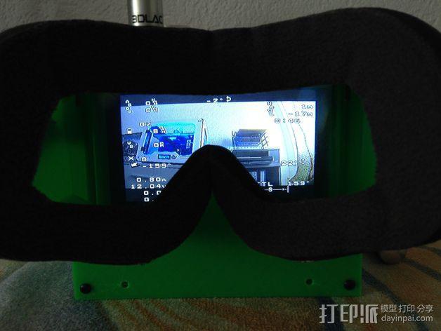 FPV谷歌眼镜 3D模型  图8