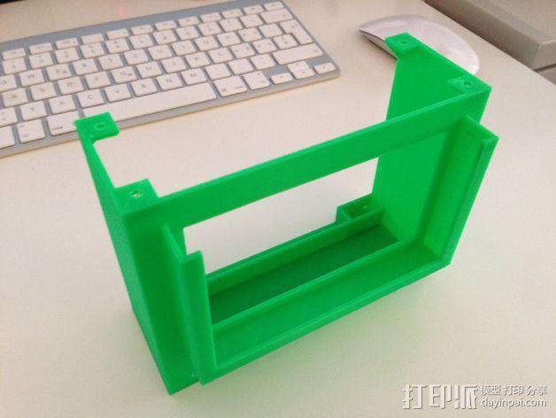 FPV谷歌眼镜 3D模型  图12
