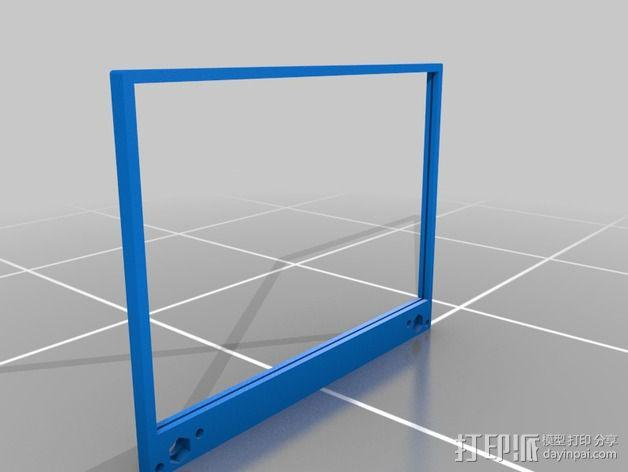 FPV谷歌眼镜 3D模型  图21