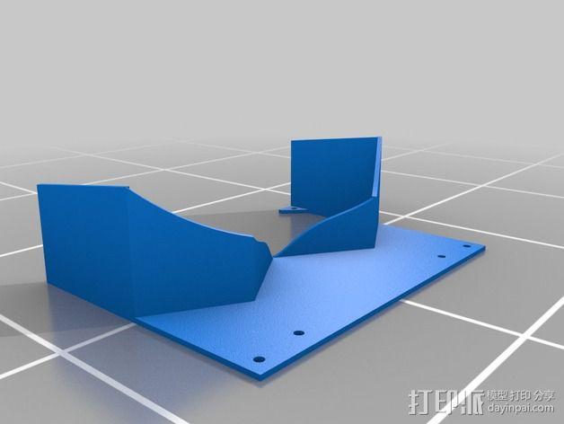 FPV谷歌眼镜 3D模型  图25