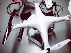 DJI Phantom 四轴飞行器 起落架 3D模型