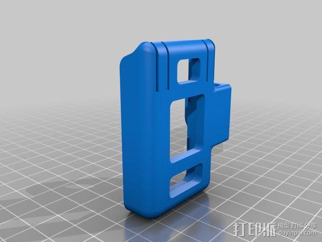Mobius相机常平架 3D模型  图3