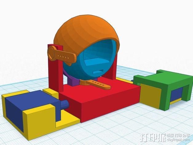 电子仿生眼 3D模型  图11