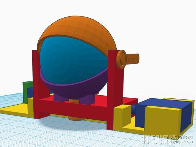 电子仿生眼 3D模型  图10