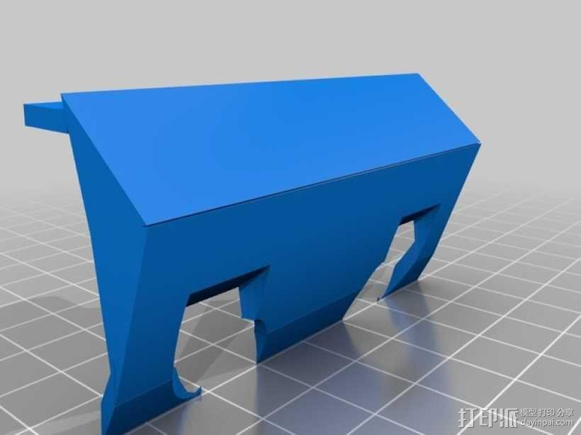 Logitraxx履带式坦克机器人 3D模型  图8