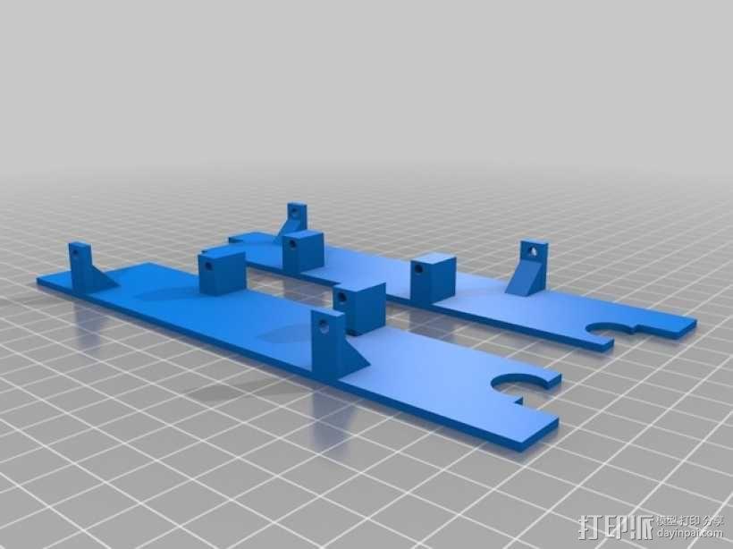Logitraxx履带式坦克机器人 3D模型  图10