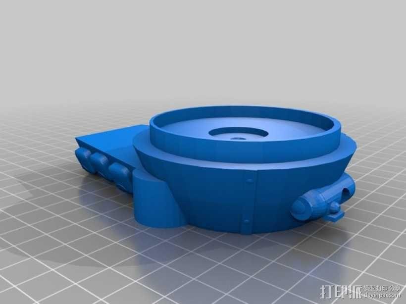 Logitraxx履带式坦克机器人 3D模型  图13