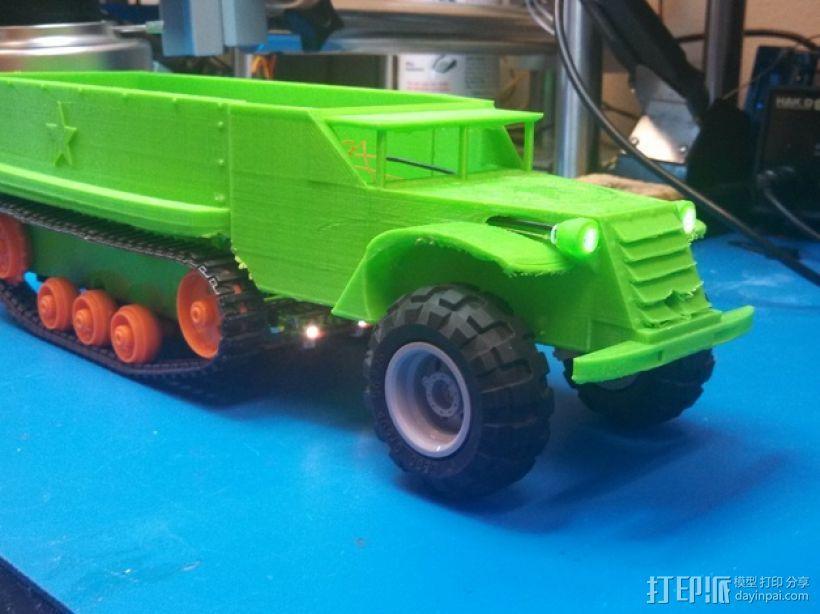 Logitraxx履带式坦克机器人 3D模型  图15