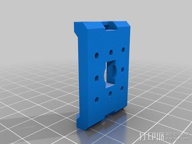 Bioloid机器人 3D模型  图2