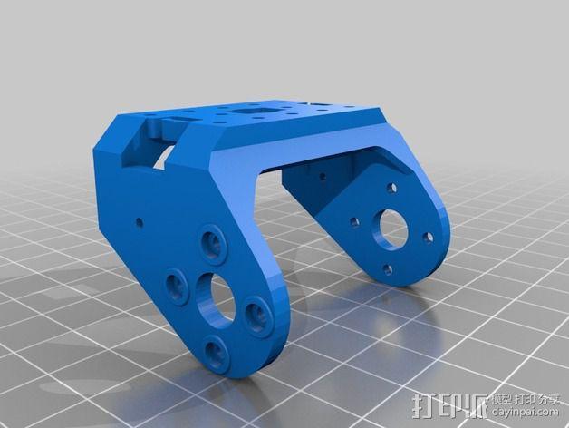 Bioloid机器人 3D模型  图5