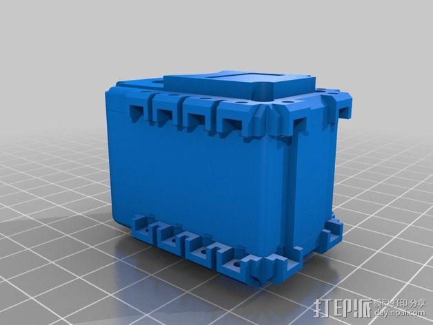 Bioloid机器人 3D模型  图7