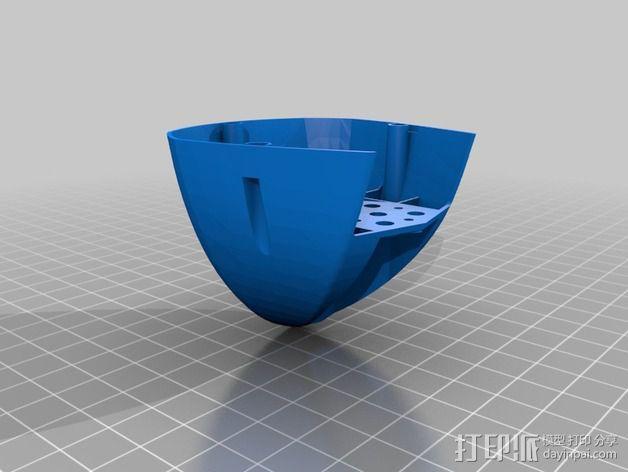 Bioloid机器人 3D模型  图9